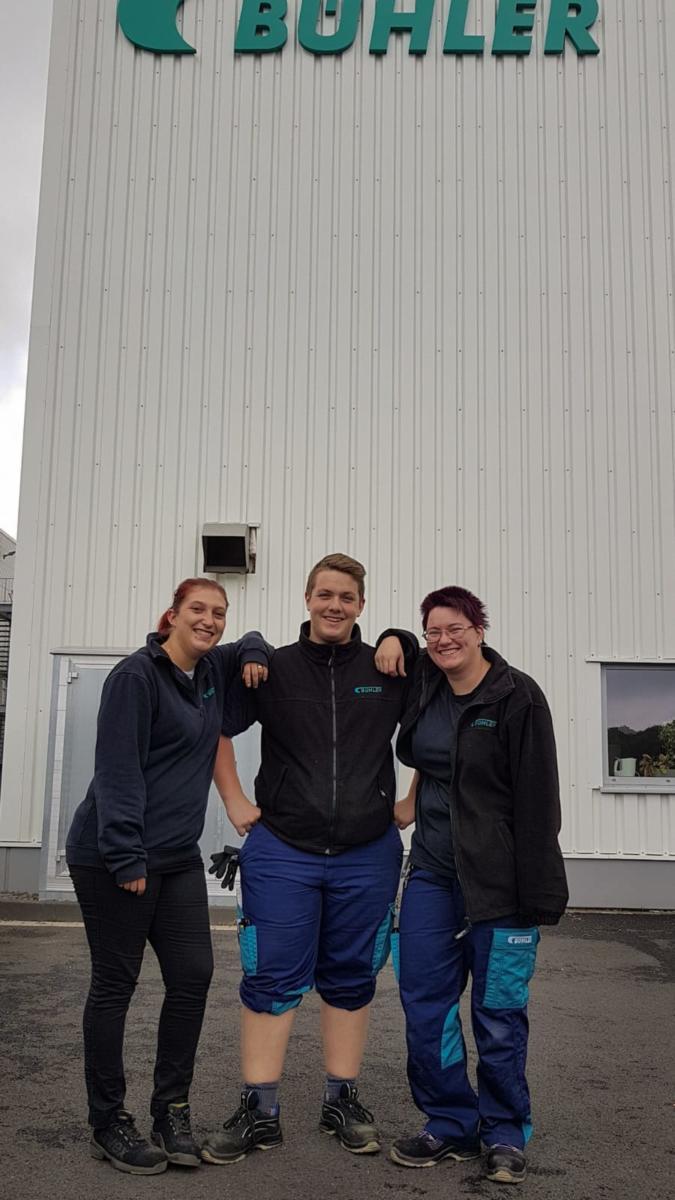 Fabio, Kim und ich