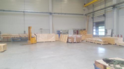 Verpackerei:Die Güter werden verpackt und zum Versand bereitgestellt.