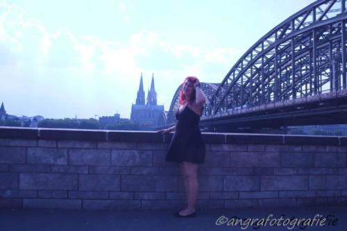 Hohenzollernbrücke und ich